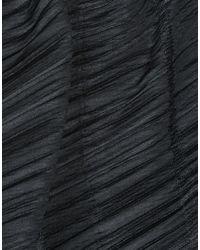 Pleats Please Issey Miyake - Black Bermuda - Lyst