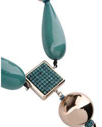 Giorgio Armani - Green Necklace - Lyst