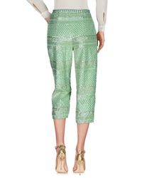 Manoush Green 3/4-length Trousers