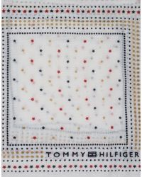 Tommy Hilfiger - White Scarf - Lyst