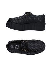 T.U.K. - Black Lace-up Shoe - Lyst