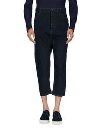 DRKSHDW by Rick Owens - Blue Denim Pants for Men - Lyst