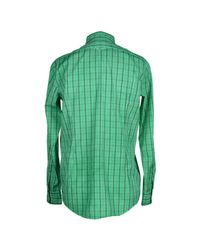 Massimo Alba - Green Shirt for Men - Lyst