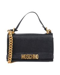 Moschino - Black Cross-body Bags - Lyst