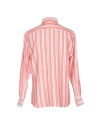 Mirto - Pink Shirt for Men - Lyst