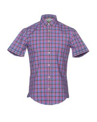 BOSS Green - Purple Shirt for Men - Lyst