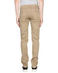 Mauro Grifoni - Natural Casual Trouser for Men - Lyst