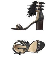 Patrizia Pepe Black Sandals