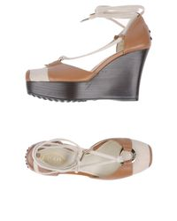 Tod's | Brown Sandals | Lyst