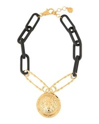Versus  - Metallic Necklace - Lyst