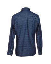 Tintoria Mattei 954 - Blue Denim Shirt for Men - Lyst