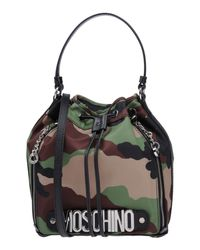 Moschino - Green Handbags - Lyst