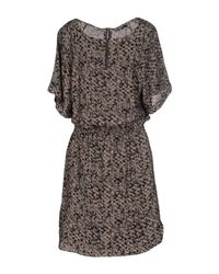 Sessun - Black Short Dress - Lyst