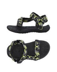 Teva - Black Sandals for Men - Lyst