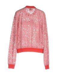 Pinko - Pink Sweatshirt - Lyst