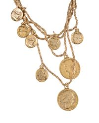 Blumarine - Metallic Necklace - Lyst
