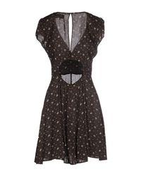 Denim & Supply Ralph Lauren - Black Short Dress - Lyst