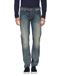 Care Label | Blue Denim Pants for Men | Lyst