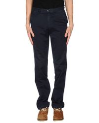 Henry Cotton's - Black Casual Pants for Men - Lyst