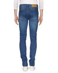Cheap Monday - Blue Denim Pants for Men - Lyst