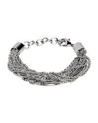 MM6 by Maison Martin Margiela - Metallic Bracelets - Lyst