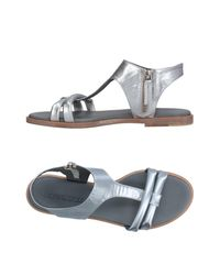 Pomme D'or | Metallic Sandals | Lyst
