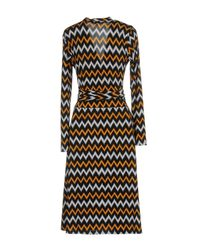 MICHAEL Michael Kors - Black Knee-length Dress - Lyst