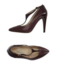 L'Autre Chose - Brown Pump - Lyst