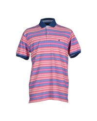 Brooksfield - Pink Polo Shirt for Men - Lyst