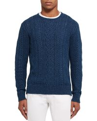 Club Monaco - Blue Sweater for Men - Lyst