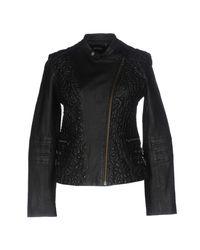 Doma Leather | Black Jacket | Lyst