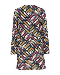 Frankie Morello | Blue Short Dress | Lyst