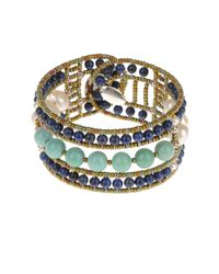 First People First - Blue Bracelets - Lyst