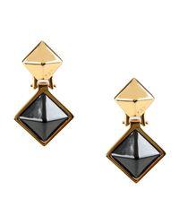 Fendi - Black Earrings - Lyst