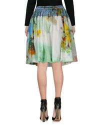 Vivienne Westwood Anglomania - Green Knee Length Skirts - Lyst