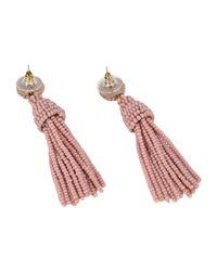 IDEAS 108 - Pink Earrings - Lyst