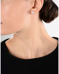 Tous White Earrings