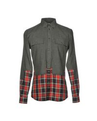 Givenchy - Gray Shirts for Men - Lyst