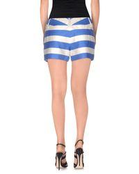 Alice + Olivia - Blue Shorts - Lyst