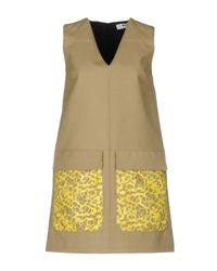 MSGM - Multicolor Short Dress - Lyst