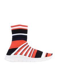 Maison Margiela Red High-tops & Sneakers for men