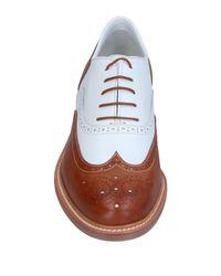 Santoni - Brown Lace-up Shoe for Men - Lyst