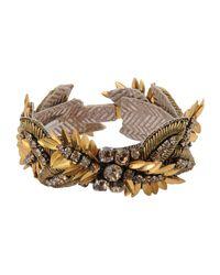 Deepa Gurnani - Metallic Bracelet - Lyst