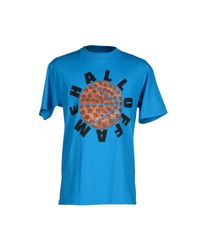 Hall of Fame - Blue T-shirt for Men - Lyst