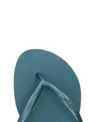 Havaianas - Blue Toe Post Sandal - Lyst