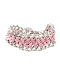 Scee By Twin-set - Pink Bracelet - Lyst