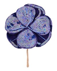 Maliparmi - Purple Brooch - Lyst