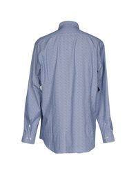 Etro - Blue Shirts for Men - Lyst