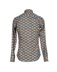 Stella Jean - Brown Shirt for Men - Lyst