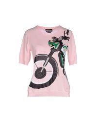 Sonia Rykiel - Pink Sweaters - Lyst